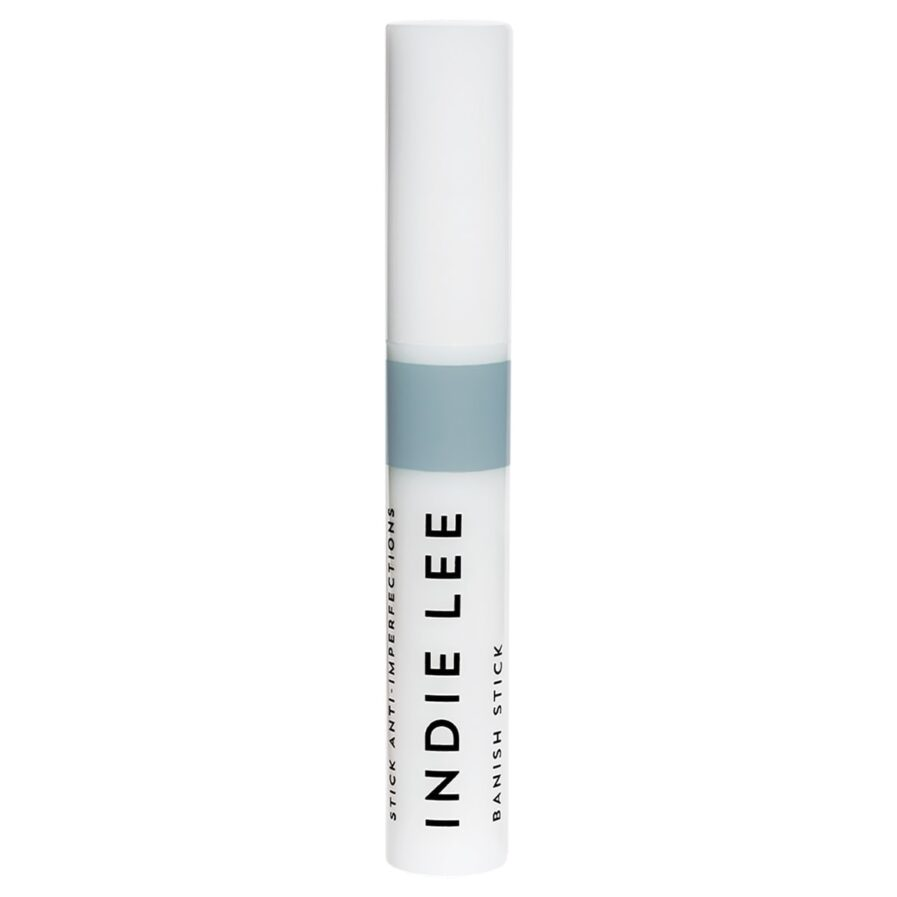 Indie Lee Banish Stick is formulated with salicylic acid, AHAs and plant extracts to soothe and exfoliate problem spots.