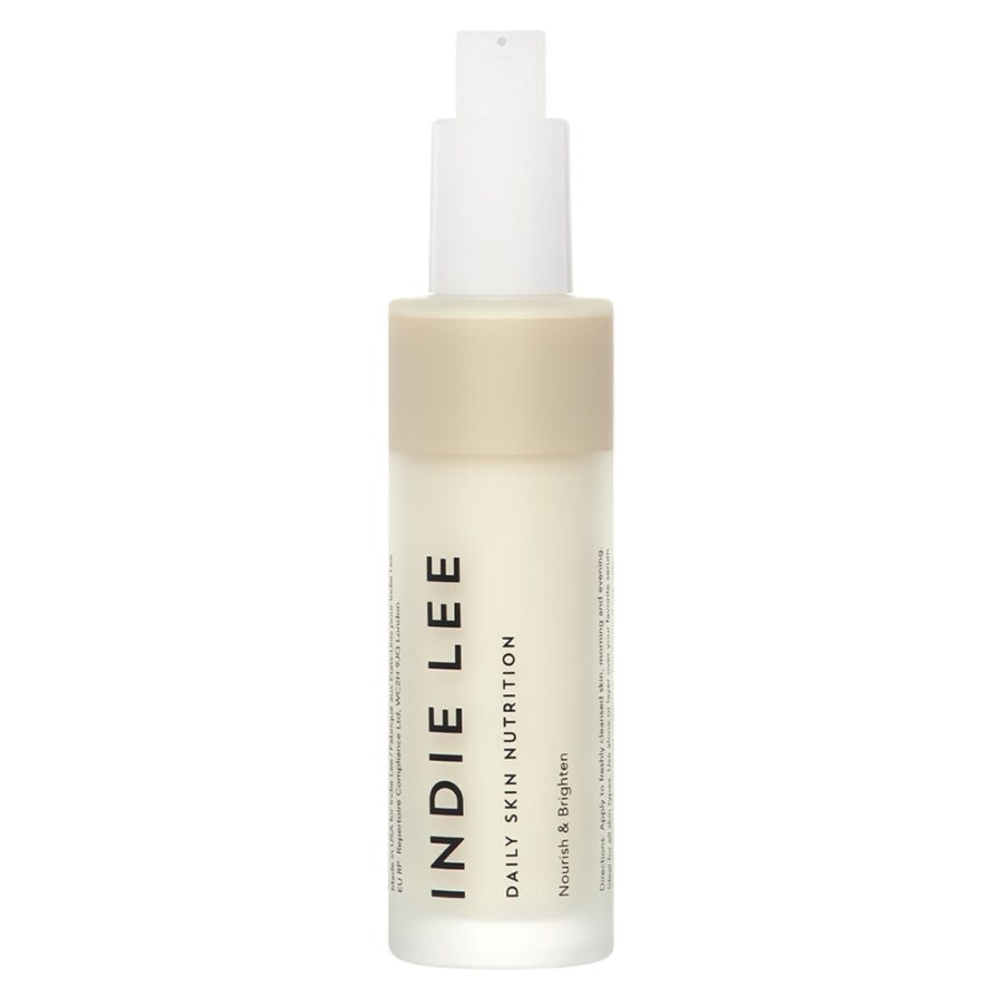 Indie Lee Daily Skin Nutrition is a hydrating moisturizer for sensitive skin. It's formulated to hydrate, soothe and even out skin tone.