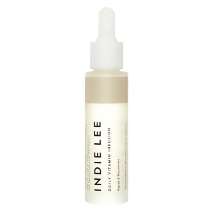 Get radiant skin with Indie Lee Daily Vitamin Infusion. It's a moisturizing ceramide serum with vitamin c to moisturize, smooth and brighten skin.