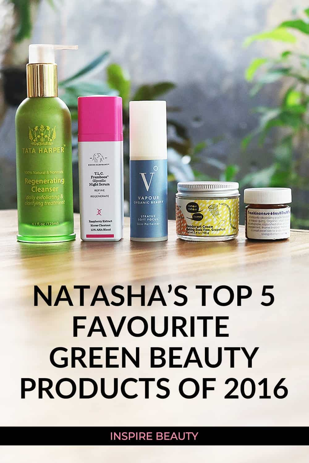 Natasha St. Michael's favourite skincare and body care products for 2016.