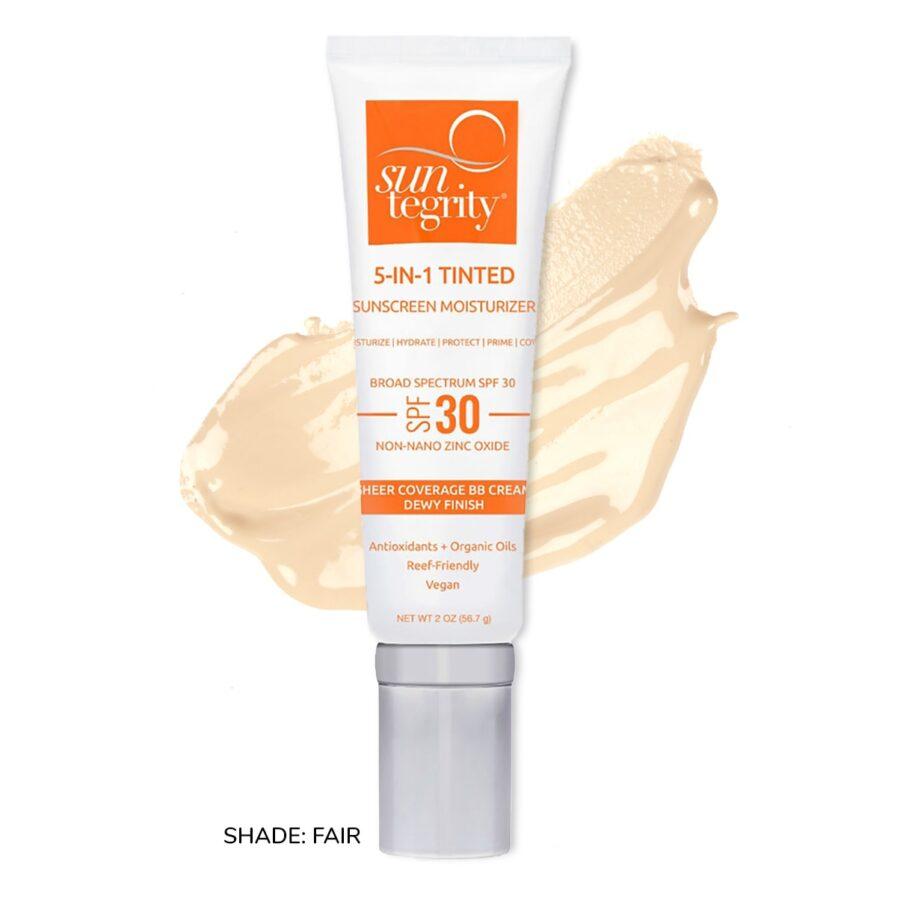 Suntegrity 5in1 Natural Moisturizing Face Sunscreen SPF30 in Shade Fair