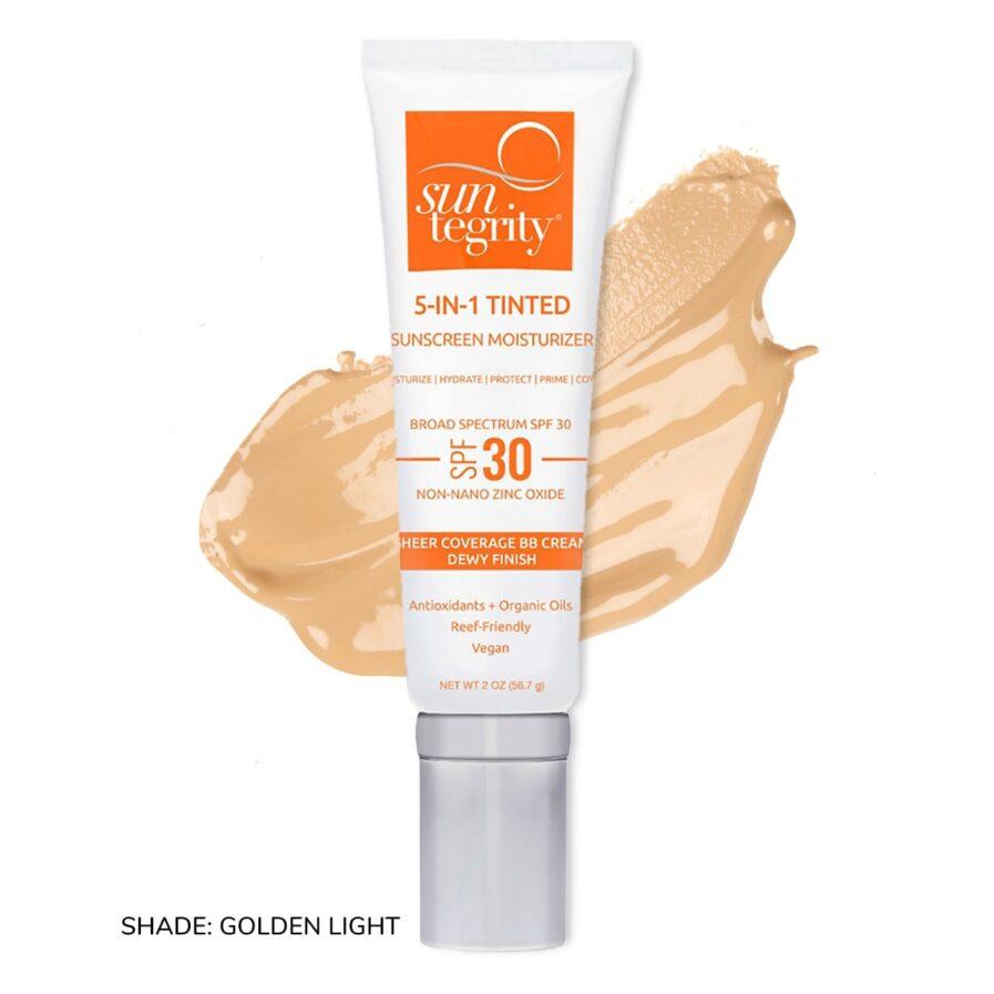 Suntegrity 5in1 Natural Moisturizing Face Sunscreen SPF30 in Shade Golden Light