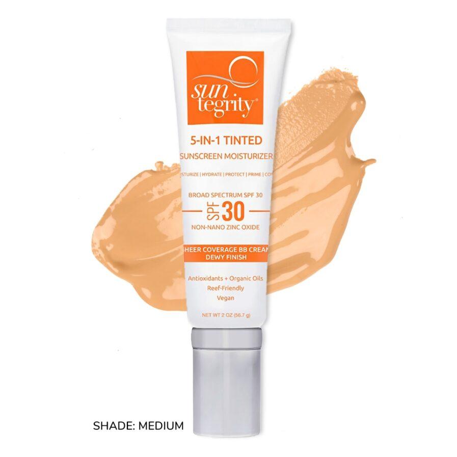 Suntegrity 5in1 Natural Moisturizing Face Sunscreen SPF30 in Shade Medium