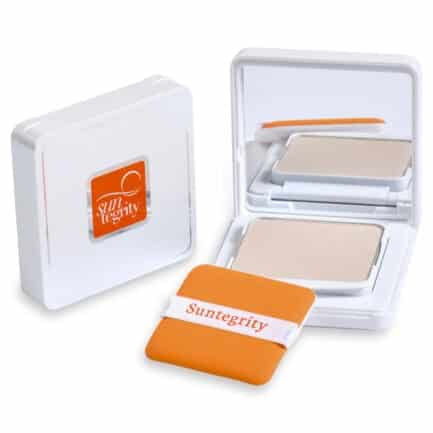 Suntegrity Mineral Powder SPF50 is a translucent mineral sun protection powder great for reapplying sunscreen and touch ups through out the day