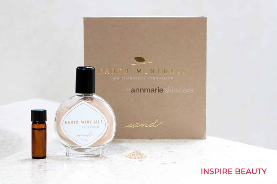 Annmarie Skin Care Minerals Multi Purpose Foundation review, mineral makeup powder to make a tinted moisturizer or foundation