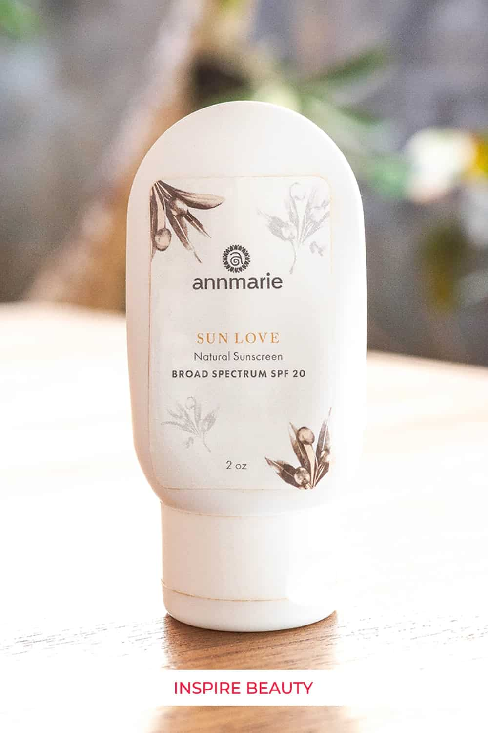 Annmarie Skin Care Sun Love review, mineral all natural physical sun protection