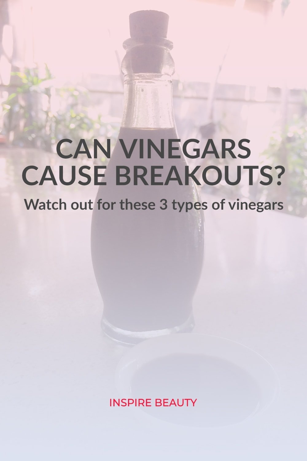 Find out which vinegars can cause breakouts and acne.