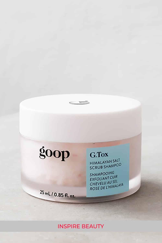 GOOP G.Tox Himalayan Salt Scalp Scrub Shampoo review