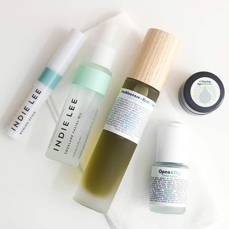 Shop natural skin care Living Libations Frankincense Best Skin Ever, Indie Lee Spot Treatments