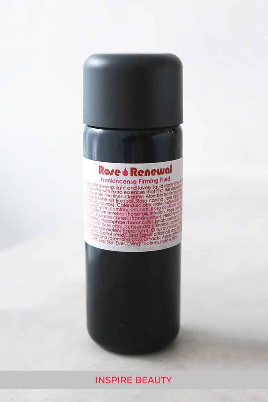 Living Libations Rose Renewal + Frankincense Firming Fluid review.