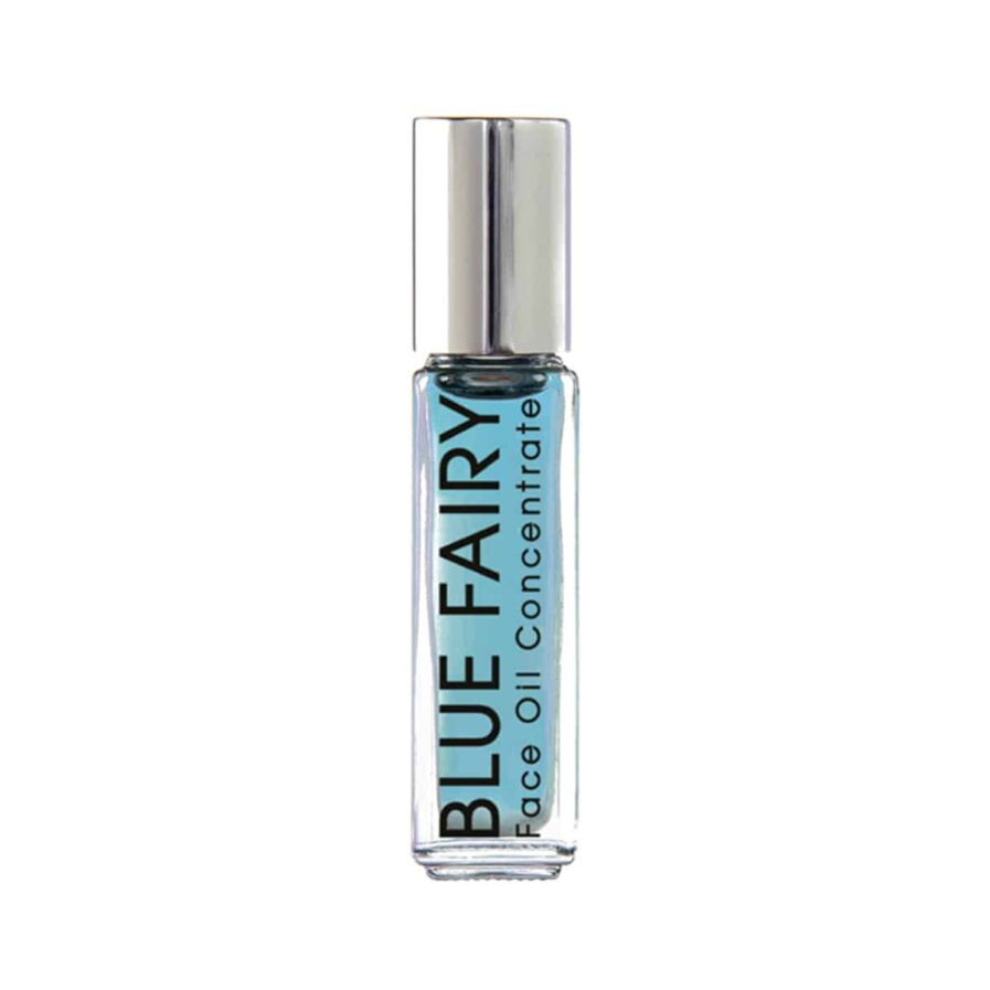 VERDURA naturalternatives Blue Fairy Concentrate is a clarifying facial oil to treat pimples and acne. The Travel size is perfect for spot treating pimples and reducing redness on the go.