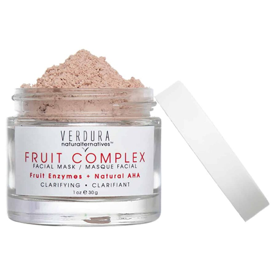 Verdura Naturalternatives Fruit Complex Facial Mask is a clarifying exfoliating mask for smoother, clearer skin.