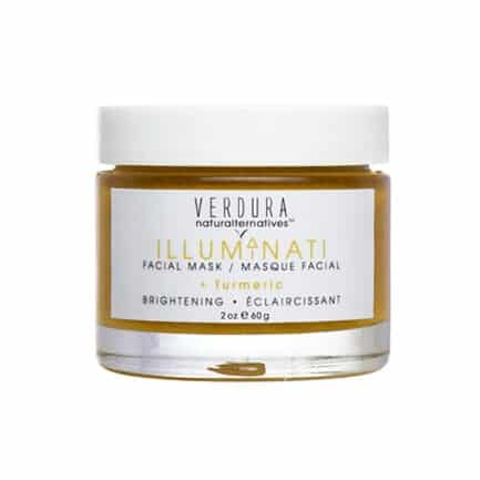VERDURA naturalternatives Illuminati Facial Mask is a brightening and nourishing face mask formulated to treat dryness, sensitivity, irritation, hyperpigmentation and dull skin.