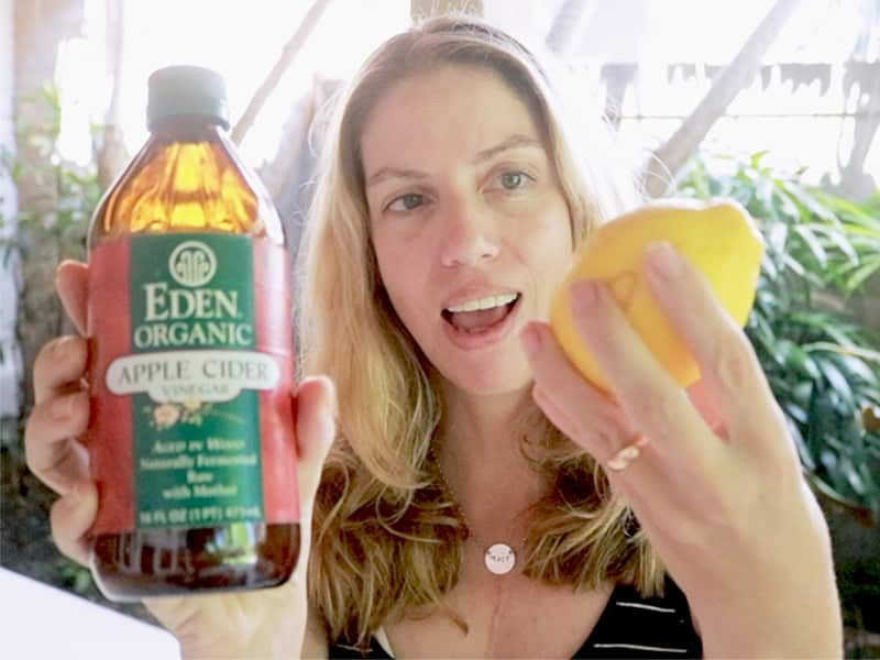 Lemon and apple cider vinegar isn't safe to use on your face or skin. Find out why.