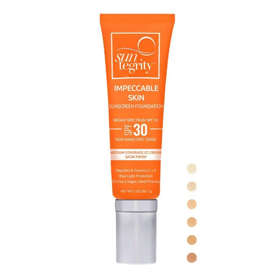 Shop Suntegrity Impeccable Skin medium coverage foundation sunscreen SPF30