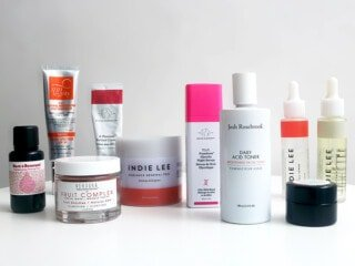 Recommended skin care products for anti-aging and maintaining young looking skin.