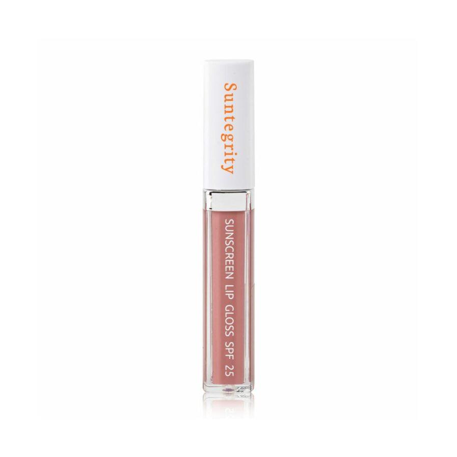 Suntegirty Sunscreen Lip Gloss in shade Skinny Dip