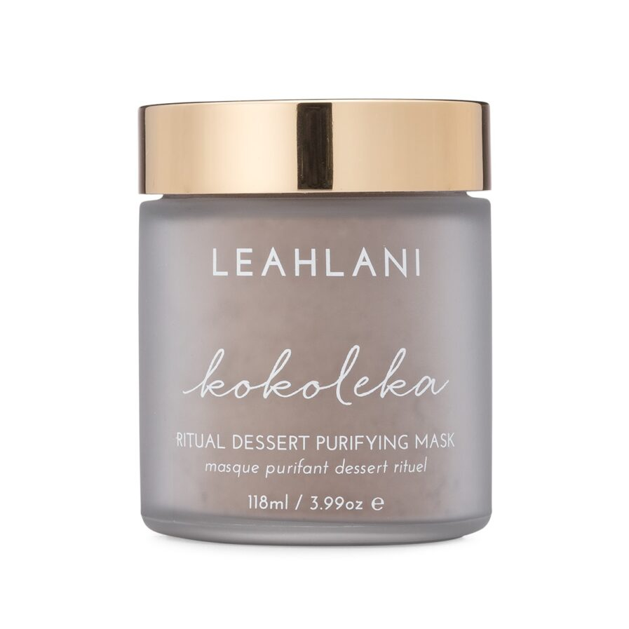 Leahlani Kokoleka Mask is a decadent, deep cleansing detox mask ideal for oily, combinations and acne prone skin.