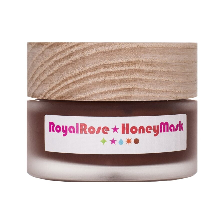 Living Libations Royal Rose Honey Mask is a deep cleansing exfoliating mask revealing silky smooth skin.