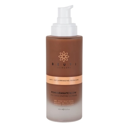 Shop Beuti Skincare Pomegranate Glow Enzyme Cleanser Canada & USA. Free shipping on all order above $99.