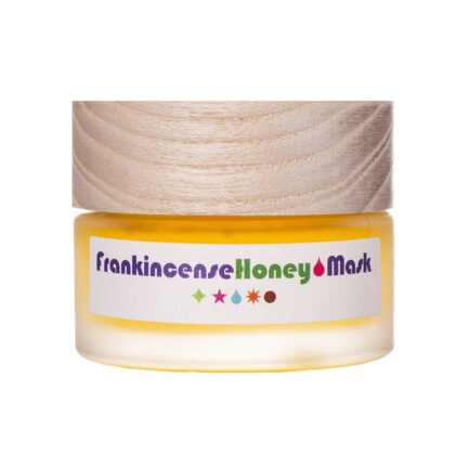 Living Libations Frankincense Honey Mask purifies pores and fades imperfections as it hydrates and softens skin.