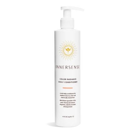 Shop Innersense Color Radiance Daily Conditioner, a moisturizing daily conditioner for color and chemically treated hair.