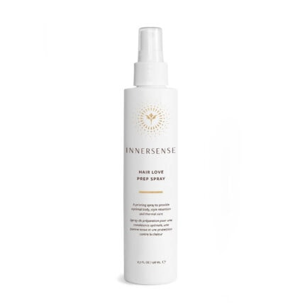 Shop Innersense Hair Love Prep Stray, a priming spray for optimal styling and thermal heat protection.