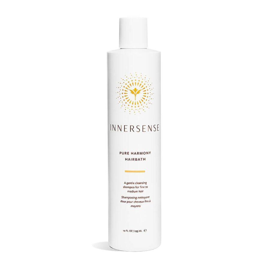 Shop Innersense Pure Harmony Hairbath, a mild shampoo that adds volume and shine to fine and medium texture hair.