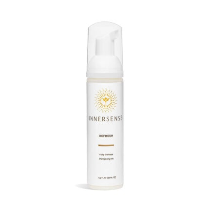 Shop Innersense Refresh Dry Shampoo, a foam to powder dry shampoo to absorb excess oil and refresh your hair style.
