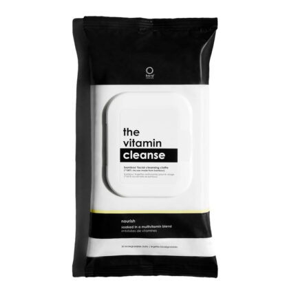 Shop Kaia Naturals Vitamin Cleanse Makeup Wipes, gentle and all natural, free shipping over $99 (Canada & USA).