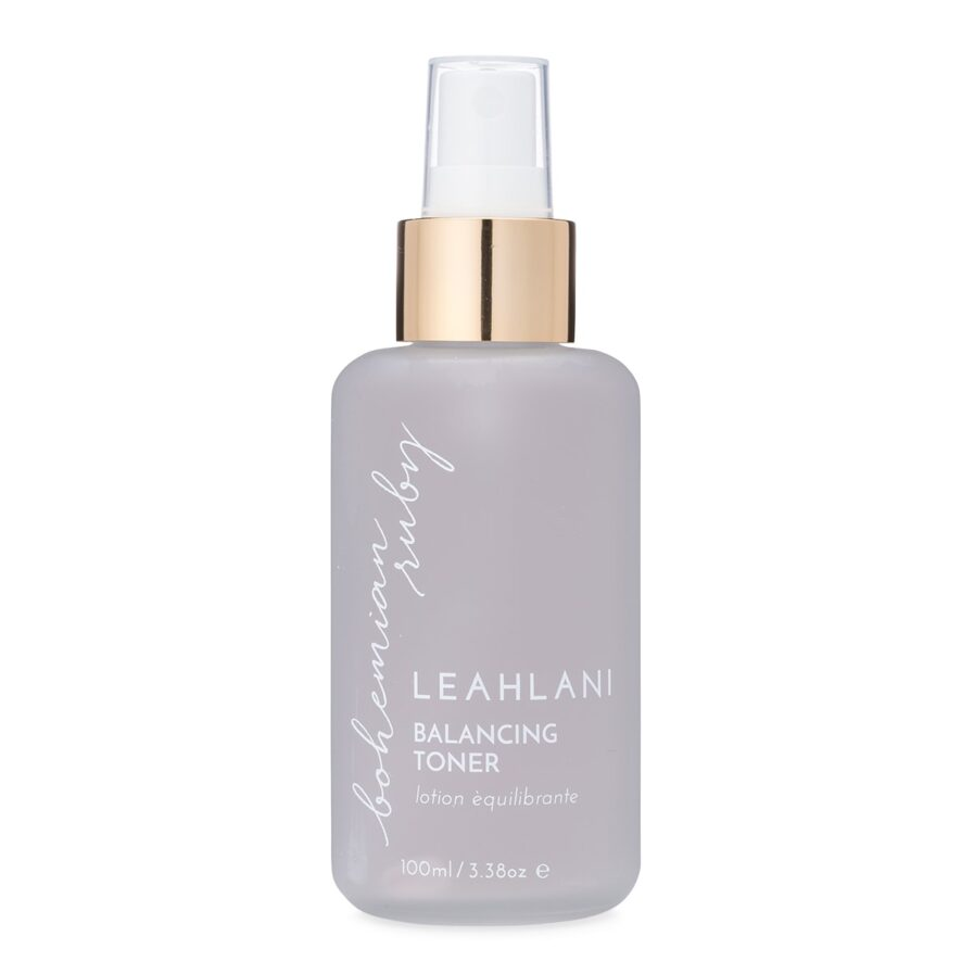 Leahlani Bohemian Ruby Toner is a soothing toning mist for dry and sensitive skin types.