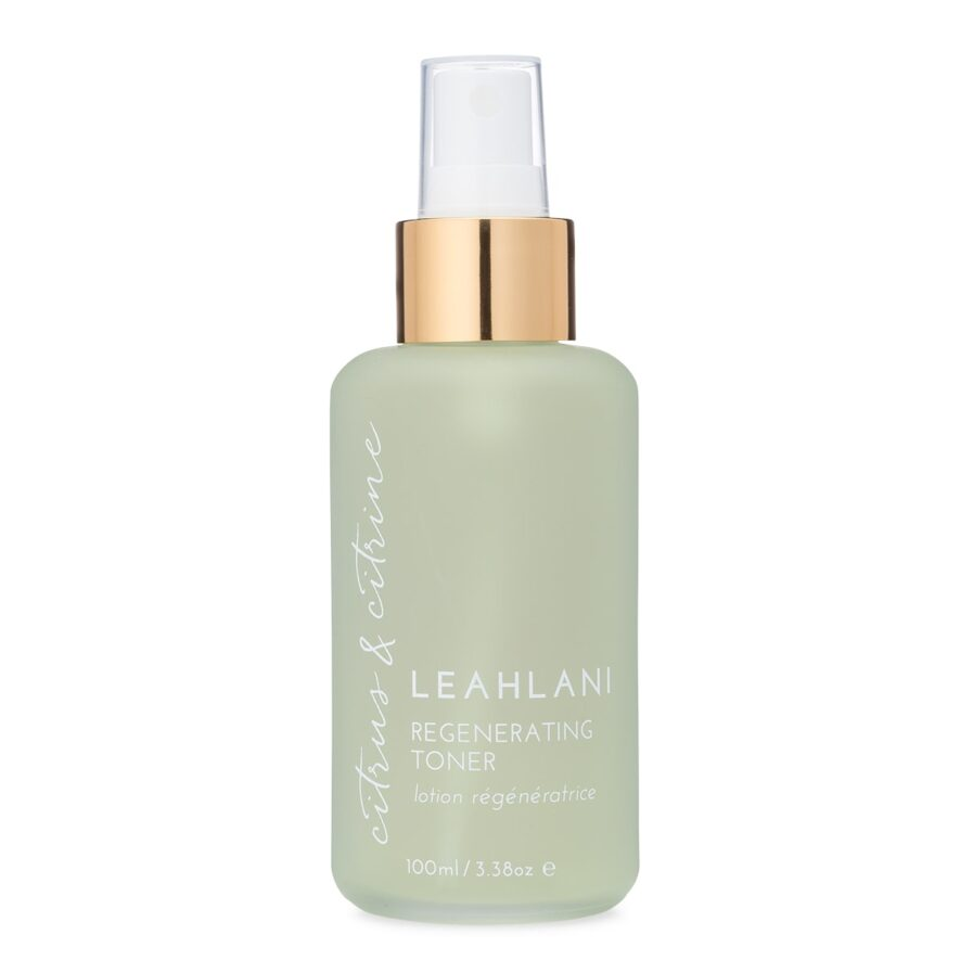Leahlani Citrus and Citrine Toner is a daily toning mist for fresh, bright and hydrated skin.