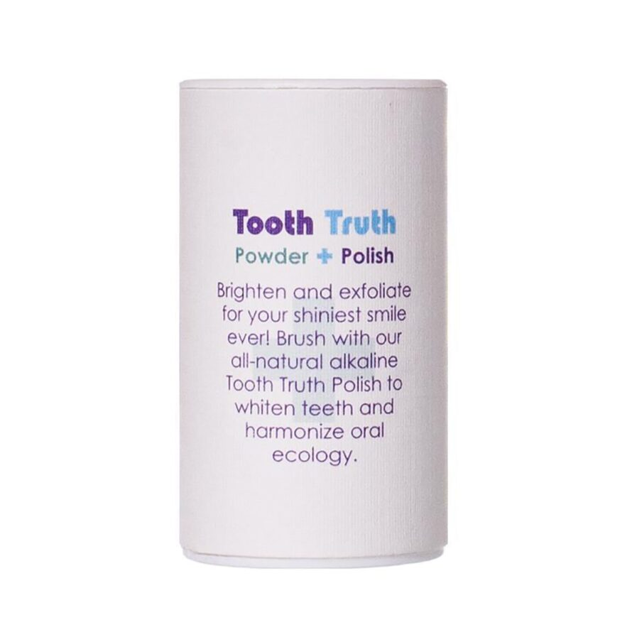 Shop Living Libations Tooth Truth Powder Polish at Inspire Beauty, an all natural tooth polish for brighter, whiter teeth.